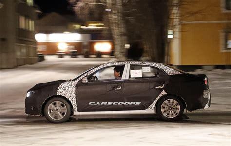 Kia Small Sedan Kia S New Sedan Spied Mimicking The Hyundai Celesta