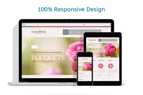responsive layout in photoshop photoshop web layouts 25 flowers tutorials and templates