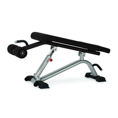 adjustable abdominal bench adjustable abdominal decline bench star trac commercial