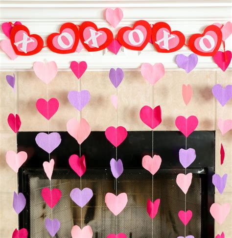 a kailo chic life diy it crepe paper heart decorations
