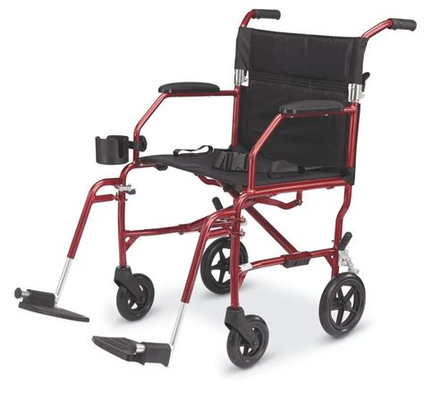 Transport Chairs Lightweight by Freedom Ultralight Lightweight Transport Chair Wheelchair