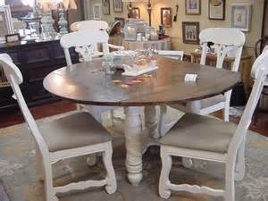 Drop Leaf Kitchen Tables by 60 Round Drop Leaf Table With Six Matching Chairs Just