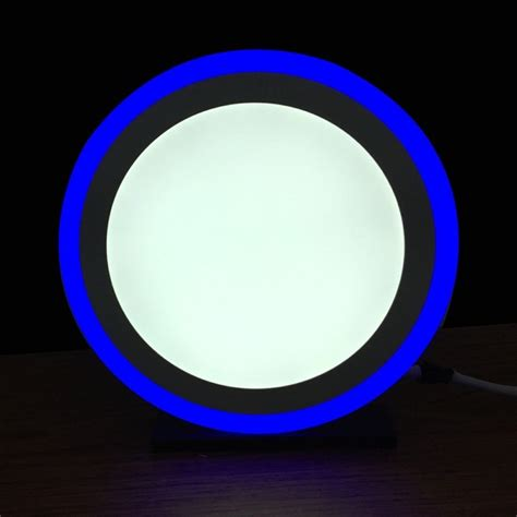 Blue Led Ceiling Lights 17 Watt Recessed Glass Blue Halo Fitting Ledbrite Lighting A Greener Future