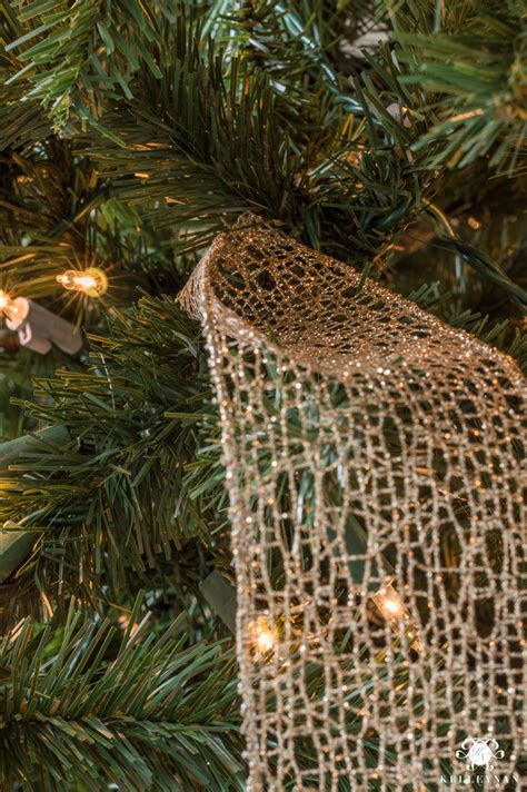 decorate tree with ribbon how to decorate a christmas tree with ribbon kelley nan