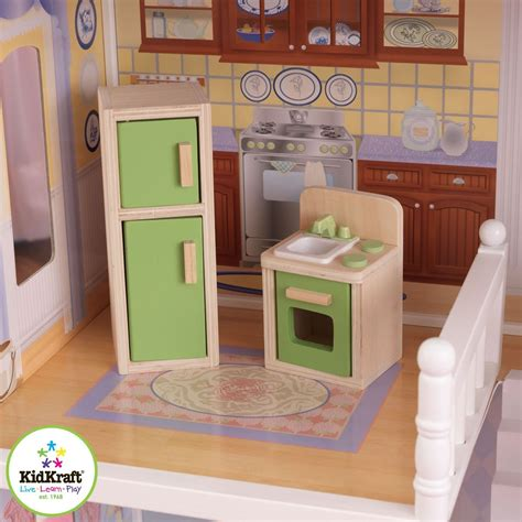 playing doll house kidkraft savannah dollhouse girls play wood play doll house 65023 ebay