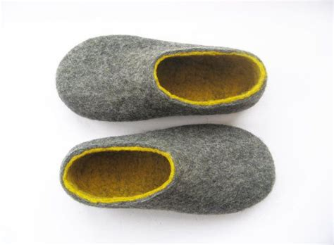 felt house slippers womens house slippers felted wool shoes handmade shoes organic wool color