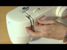 Toyota Sewing Machine Parts Rs2000 How To Thread A Toyota Sewing Machine Rs2000 Series Single