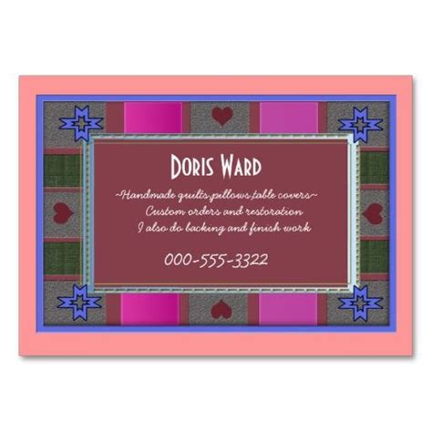 quilting business cards templates 1000 images about quilters business cards on