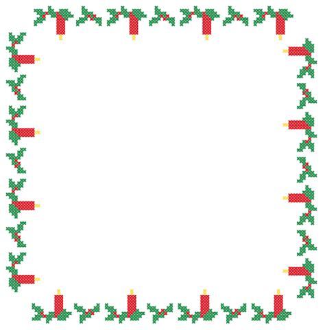 christmas pattern border instant download cross stitch pattern christmas border