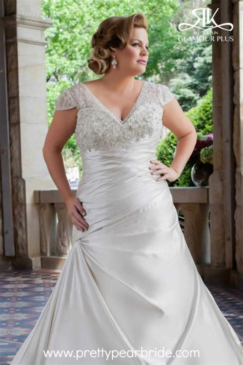 Size 44 Wedding Dresses by Plus Size Wedding Dress Of The Week Plus Abella