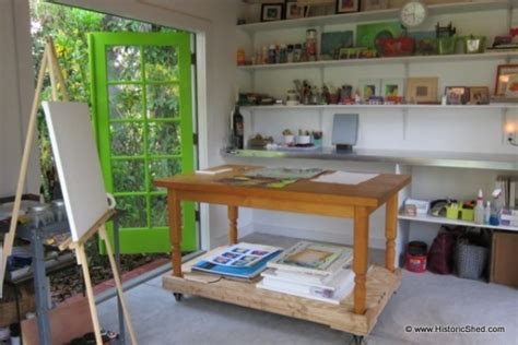 Backyard Shed Office Plans 144 Sq Ft Backyard Shed Art Studio