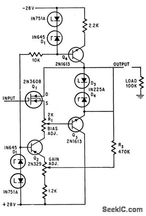 infinite resistor circuit infinite input resistance basic circuit circuit diagram seekic