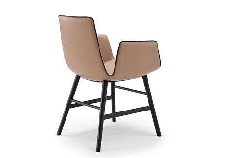 wooden frame armchair amelie armchair with wooden frame round by freifrau