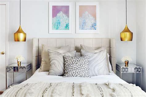 bedroom pendants aurora bell pendant eclectic bedroom domaine home