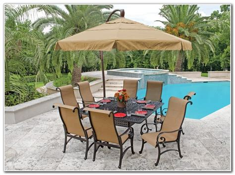 patio furniture sets with umbrella patio furniture dining sets with umbrella patios home