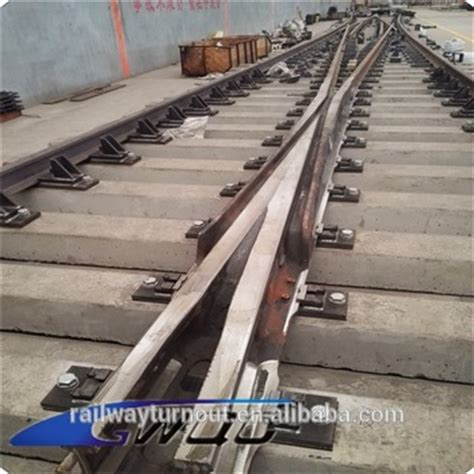 Concrete Sleeper Price by China Supplier Railway Spare Parts Railway Turnout Switch