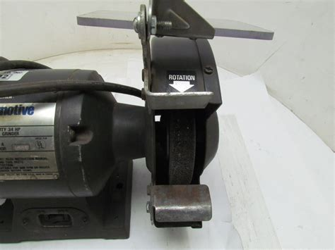 black and decker 6 inch bench grinder black decker automotive heavy duty bench grinder 3 4hp 8