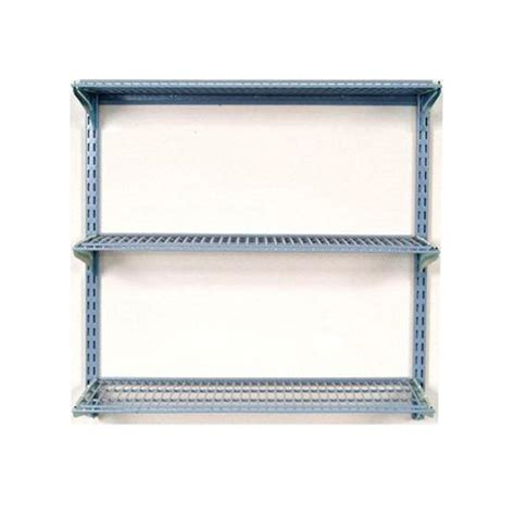 wire shelves home depot storability 33 in l x 31 5 in h wall mount shelving unit with 3 wire shelves and mounting