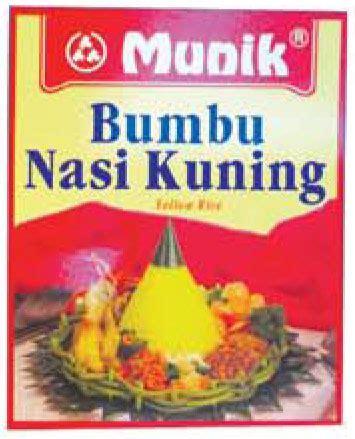 Kokita Bumbu Rendang Padang 180g bumbu nasi kuning yellow rice rijsttafel 70 gr by