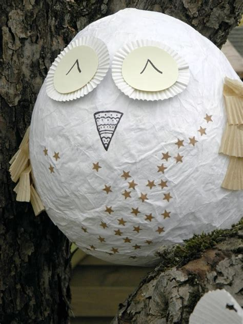 How To Make A Paper Mache Owl - my owl barn diy paper mache owl egg