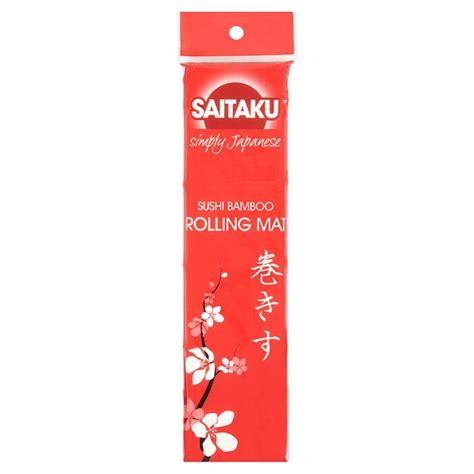 Where To Buy Sushi Rolling Mat by Saitaku Sushi Rolling Mat From Ocado