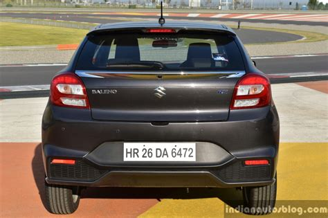 Baleno Rack End Isuzu maruti baleno rs rear drive review indian autos