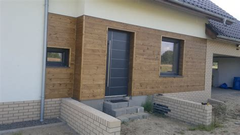 Studio Homes taras elewacja podbitka drewniana moco cedral