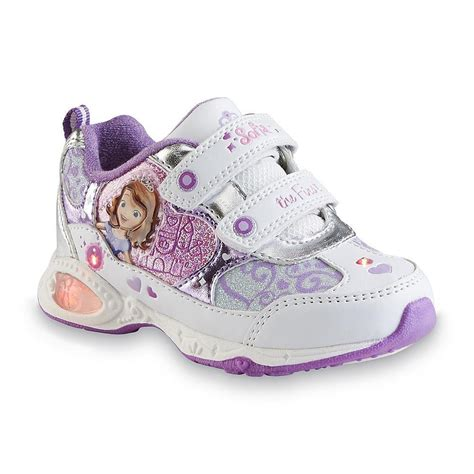 Sofia Shoes Fuchia Kulit new disney toddler s sneaker sofia light up sz 6 7 8 9 10 11 12 ebay