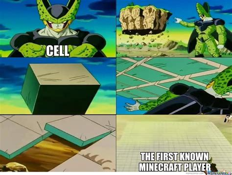 Perfect Cell Meme - minecraft minecraft memes meme center and meme