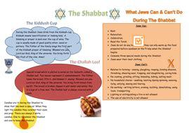ks3 judaism the shabbat by erica 10 teaching