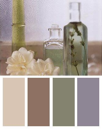 soothing colors  spa  zen inspired color palettes