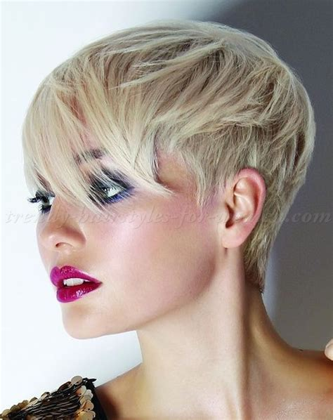 short hairstyles with long bangs   short hairstyle   trendy hairstyles for women.com