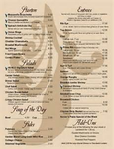 best dinner menu restaurant