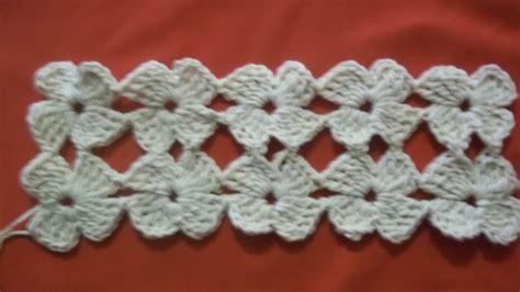 paso a paso puntada florecitas crochet paso a paso youtube