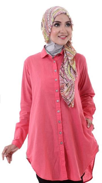 Atasan Wanita Blouse Muslim Tulip Blouse 4 model baju brokat modern untuk suasana kasual