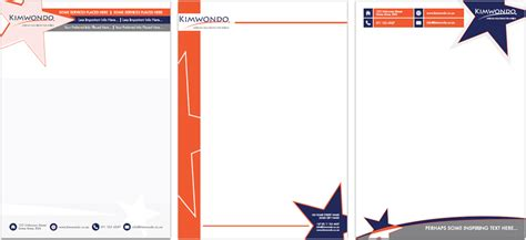 letterhead and complimentary slip designers corporate