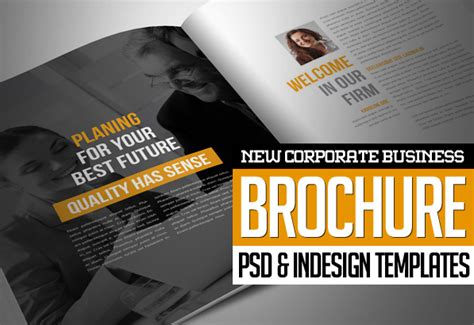 new corporate business brochures design graphic design