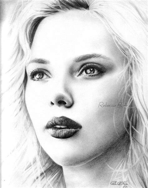 imagenes de retratos a lapiz retratos a l 225 piz de mujere famosa