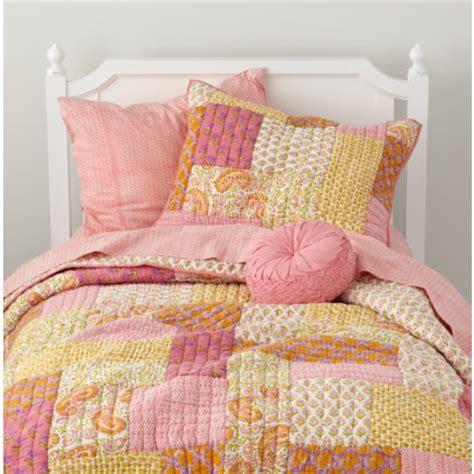 pink and yellow bedding girls bedding pink and yellow patchwork quilt bedding