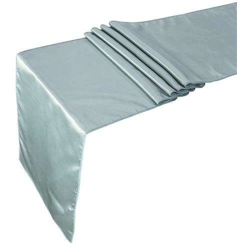 Satin Table Runner Taplak Satin Ungu 10 pcs satin table runner wedding banquet decoration 12 x 108 inches ebay
