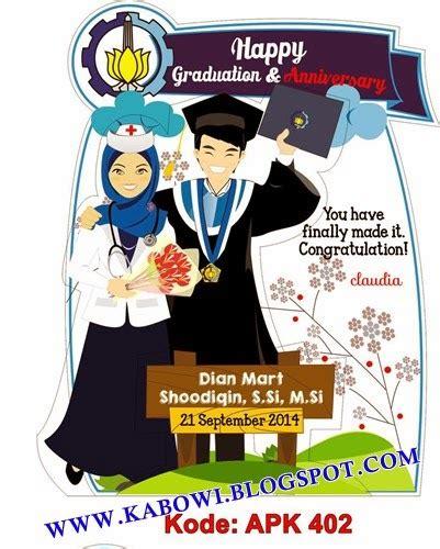 Boneka Wisuda Jember kabowi produsen boneka wisuda plakat souvenir graduation