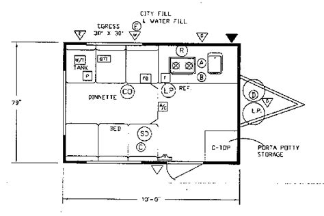 teardrop cer floor plans teardrop cer floor plans gurus floor