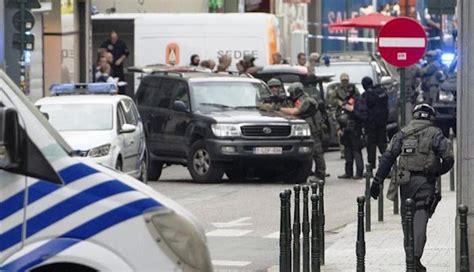 imagenes fuertes atentado bruselas bruselas en jaque por una falsa alarma de atentado el