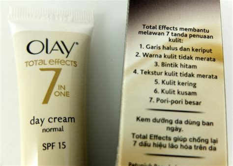 Olay Day Dan coba dan review olay total effects 7 in one day