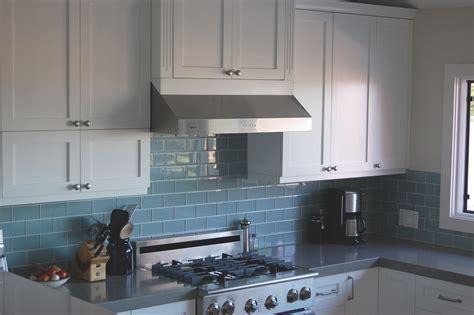 best backsplash for dark cabinets sky blue glass subway