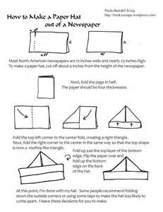 Steps To Make A Paper Hat - 301 moved permanently