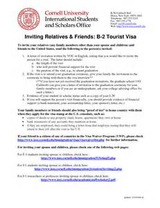 Us Visa Application Company Letter How To Write Invitation Letter For Visit Visa Canada