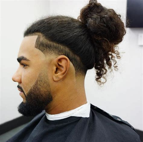 Taper man bun    BarbershopConnect.com