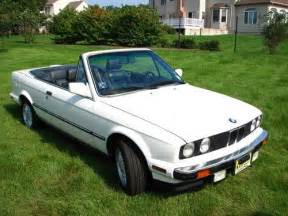purchase used 1990 bmw e30 325i convertible white blue