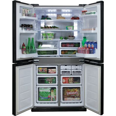 Lemari Es Freezer Mini 100 door fridge freezers sharp sjxe624fsl 624l door kulkas rumah faber fabula bk